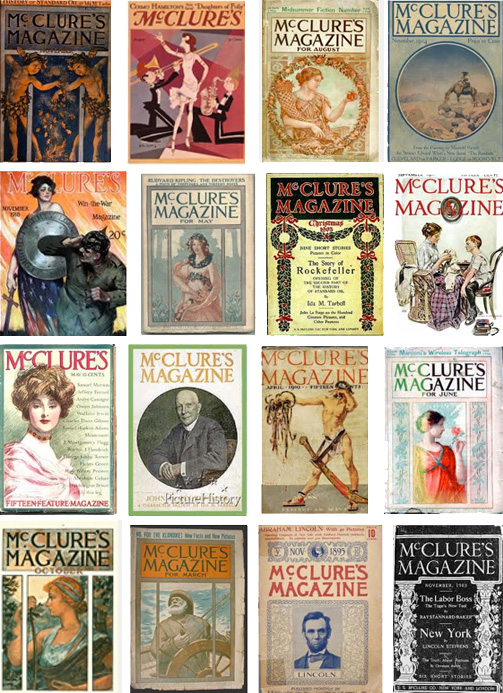 Vintage McClure's Magazine Covers