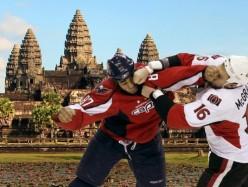 Hockey Fight in Cambodia