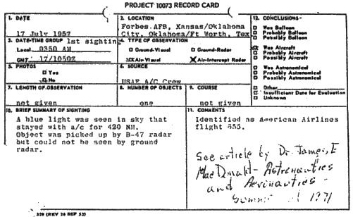 rb-47-ufo-report by crew