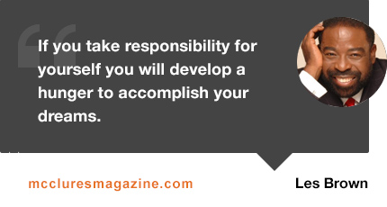 les-brown-quote-responsibility-self-dreams