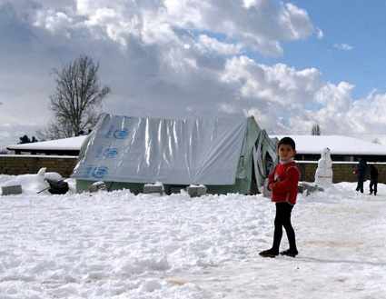 snow-syria