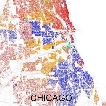 chicago-demographic map