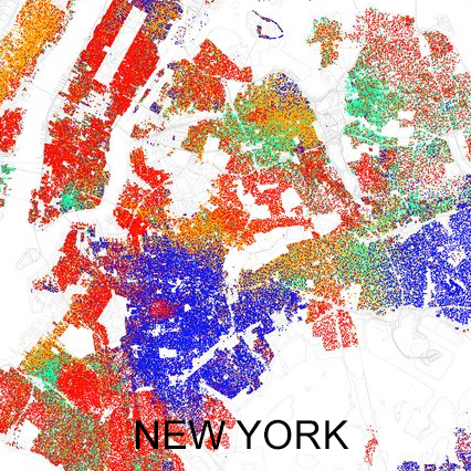 new-york-demographic map
