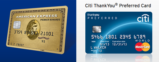 amex-citi-card-credit-thankyou-preferred-travel-hack-points-miles-frequent-flier
