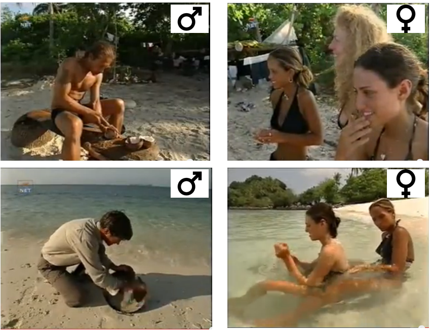dutch survivor men versus women