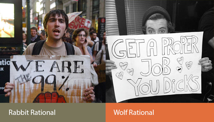 rabbit-wolf-rational-sexual-evolution-politics
